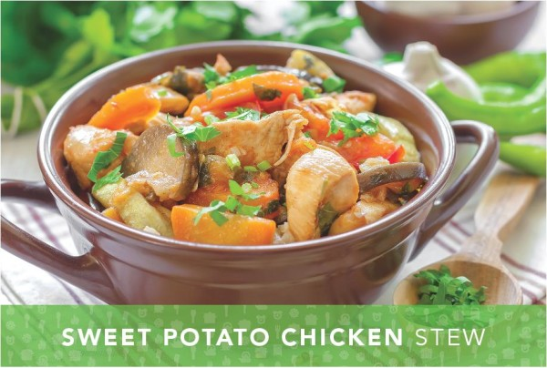 Sweet Potato Chicken Stew