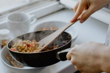 Cooking Delicious Healthy Meals with Ingredients in Your Home